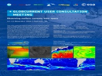 Annoucement for 1st GlobCurrent User Consultation Meeting - 12-13 November 2014, PML, Plymouth (UK)